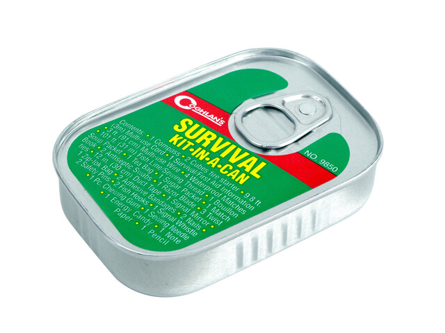 Coghlans Survival Kit grön